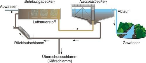 Schema Kläranlage
