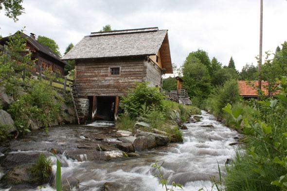 Mehlteurer Mühle, Foto Erich Wernig