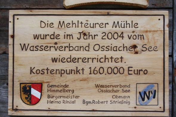 Mehlteurer Mühle