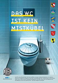 Das WC ist kein Mistkübel